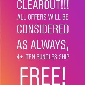 CLOSET CLEAROUT!! 🛍